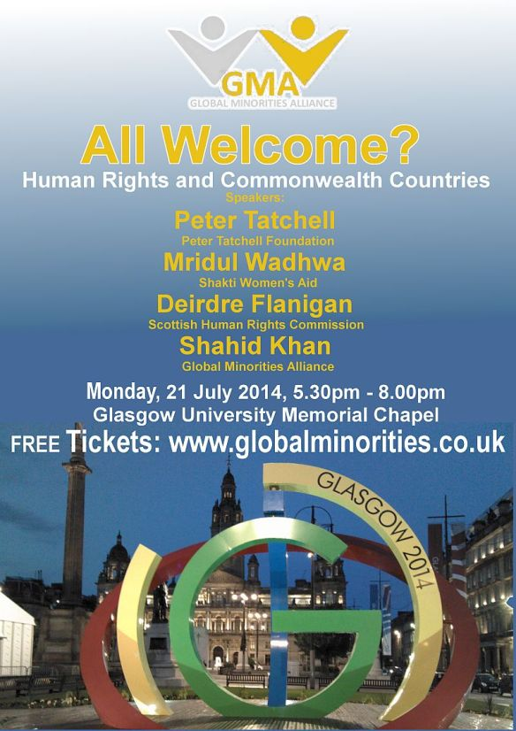 All Welcome Human Rights and Commonwealth Countries - Flyer