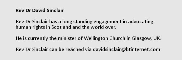 Rev Dr David Sinclair
