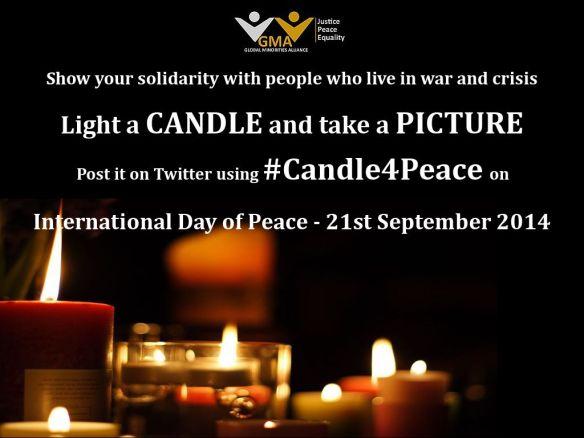 #Candle4Peace