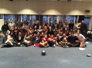 Participants of the Baha'i Youth Conference Dundee 2014