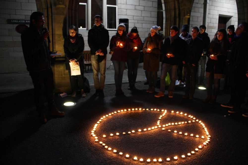 Global Minorities Alliance candlelit vigil - in pictures (5/6)