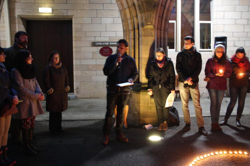 Global Minorities Alliance candlelit vigil - in pictures (4/6)