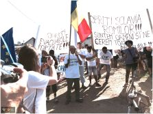 So keres, Europa?! Solidarity March – Pata Rat to Coastei Street