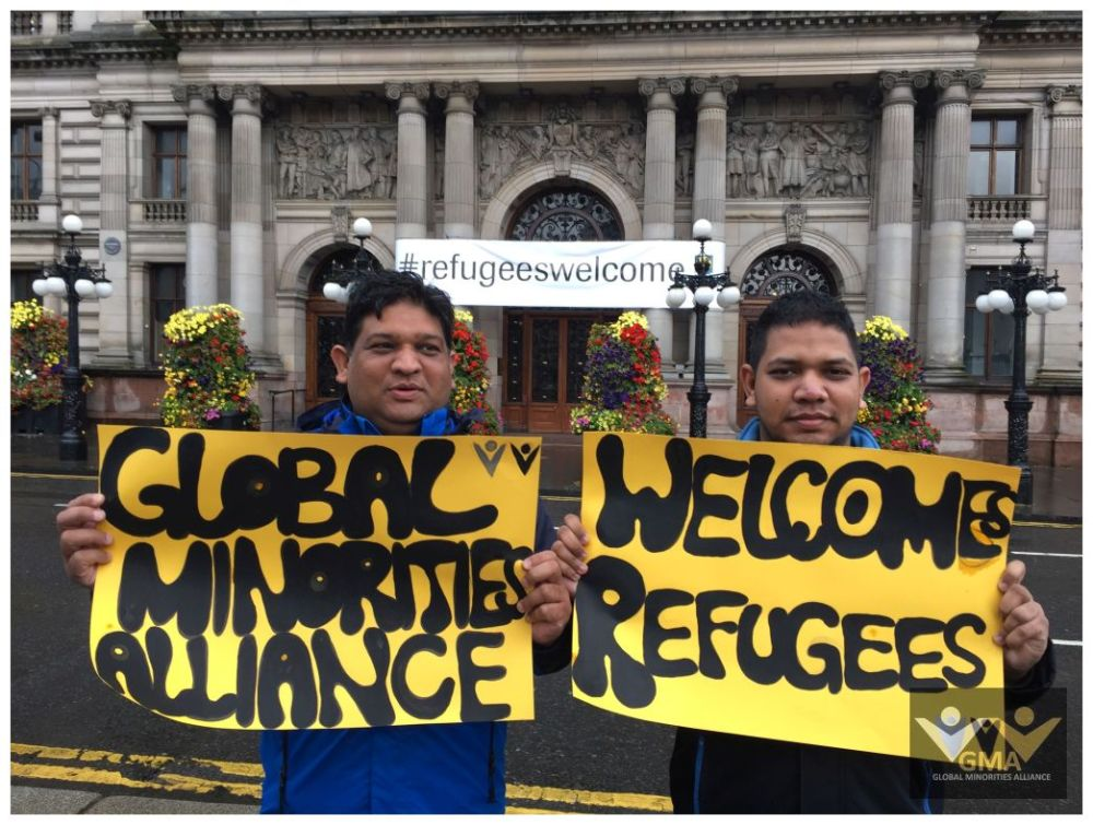 Scotland stands in Solidarity with Refugees (2/6)