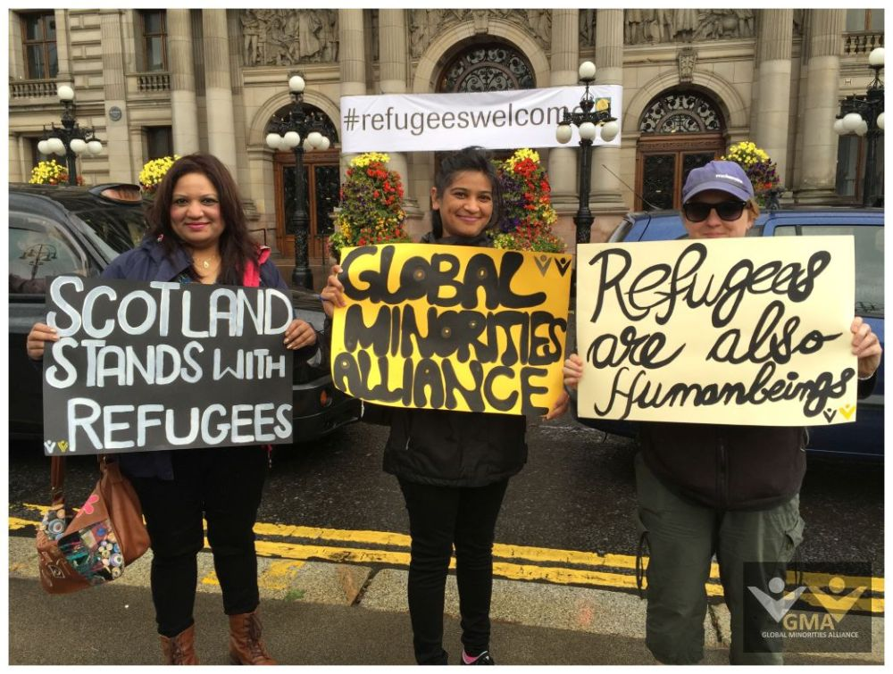 Scotland stands in Solidarity with Refugees (4/6)