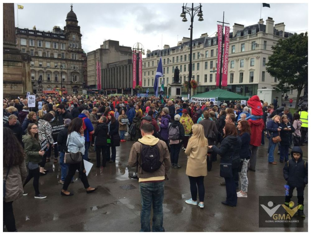 Scotland stands in Solidarity with Refugees (3/6)