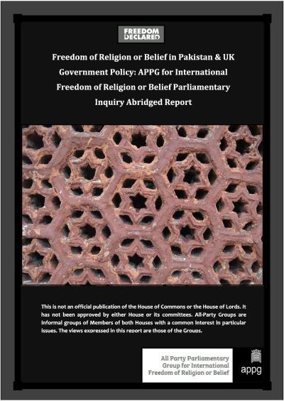 APPG Abridged Report - Pakistan Inquiry