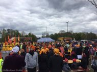 The Sikh community invited locals to a peaceful gathering to share their religious and cultural customs